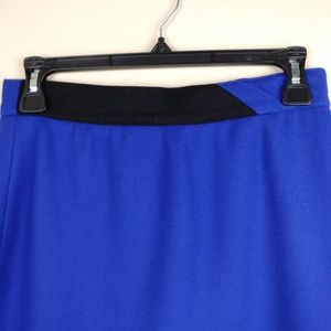 Louis Feraud Skirts - Louis Faraud Wool Pencil Skirt Midi Length Blue 8